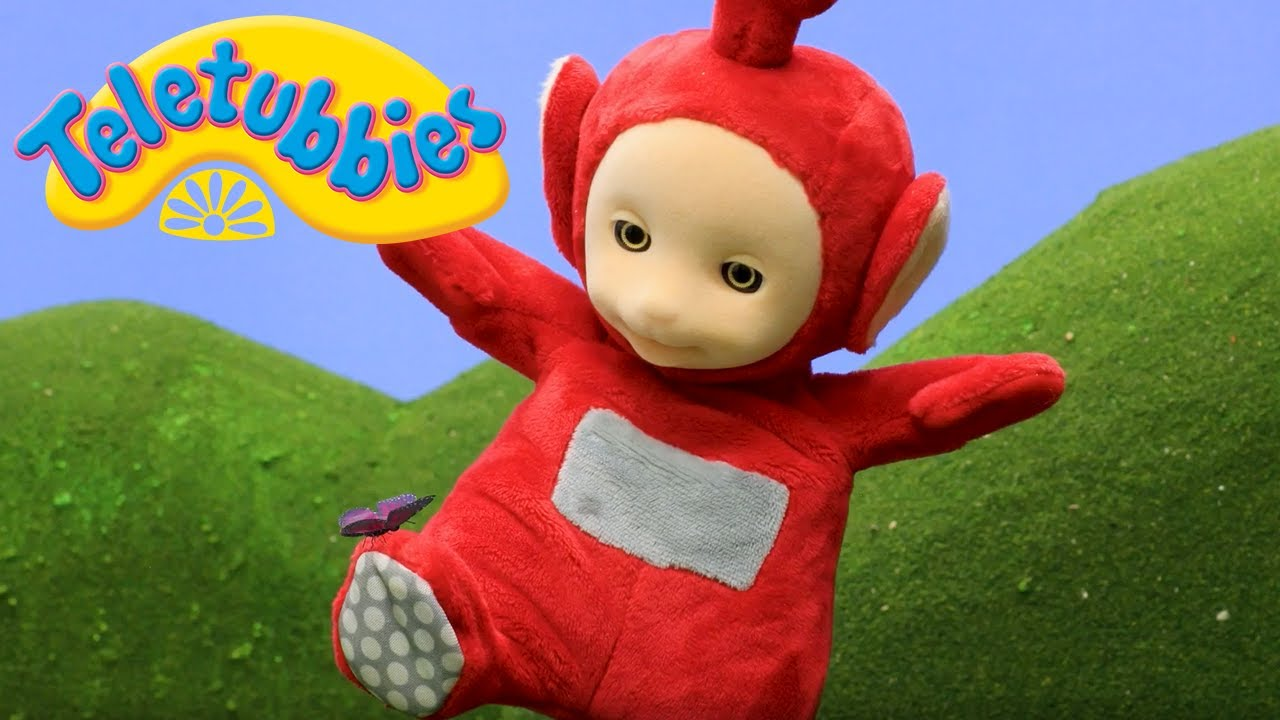 Teletubbies Full Animation Chasing Butterflies Stop