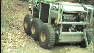 Terregator - CMU - Field Robotics Circa 1983