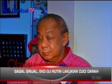 Sakit, Penampilan Eko DJ Berubah - Obsesi 25/10