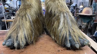 Adam Savage's One Day Builds: Wookiee Feet!