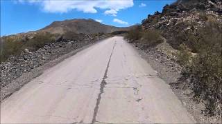 Visitando Argentina (34) - Calle 13 - Mendoza - Honda CG 150 - Go Pro - Ruta Nacional 40