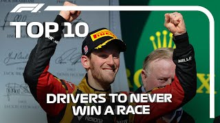Top 10 F1 Drivers To Never Win A Race