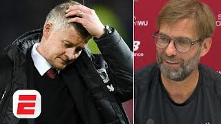 Ole Gunnar Solskjaer doesn't need my advice - Jurgen Klopp | Manchester United vs. Liverpool