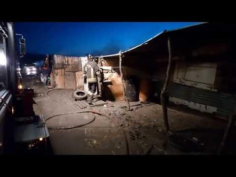 2 Morti In Incendio Gran Ghetto Vicino S.Severo 3.3.2017