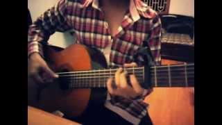 chờ người nơi ấy ( guitar cover )