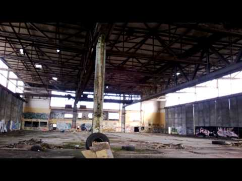 Ernst Heinkel Flugzeugwerke Oranienburg Einflughalle