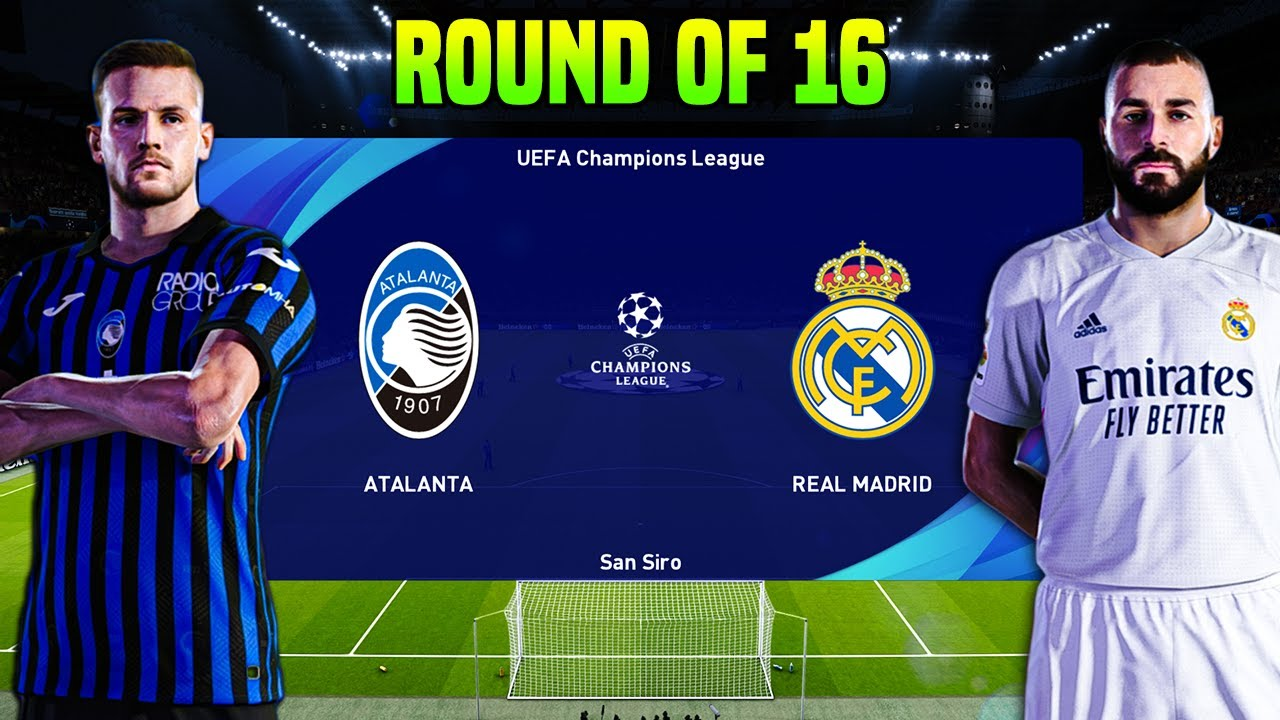 atalanta vs real madrid uefa champions league 2020 21 gameplay youtube