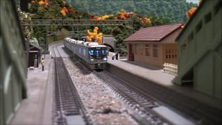 鉄道模型Nゲージ:JR225系&はるか秋模様