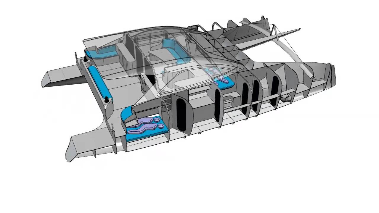 G-Force 1400C - Schionning Designs - Sailing Catamaran Design - YouTube