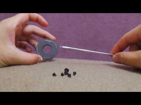 Magnetizing & Demagnetizing a Screwdriver (Speaker Magnet, DIY)