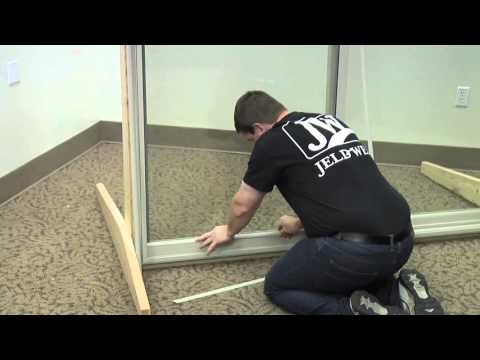 How to Replace the Glazing Bead on a Builders Vinyl Patio Door