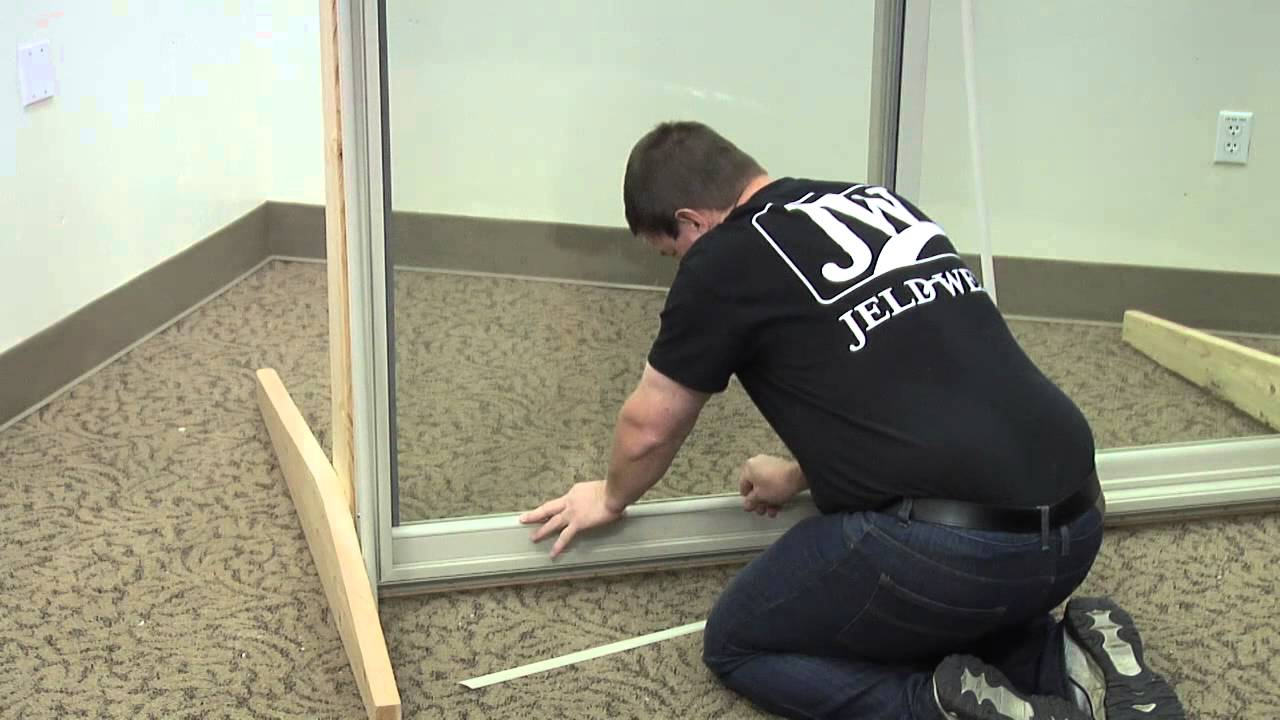 How To Replace The Glazing Bead On A Builders Vinyl Patio