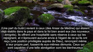 Download lagu Chapitre 59 L'exil, Récitation Émotionnelle Du Coran, Sous-titres En Plus De 90 Langues