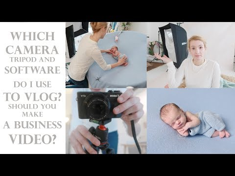 Which camera, tripod and editing software do I use to vlog? Should you make a business promo video?