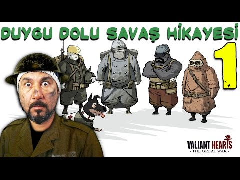 DEDEMİ ASKERE ALDILAR! | VALIANT HEARTS: THE GREAT WAR #1