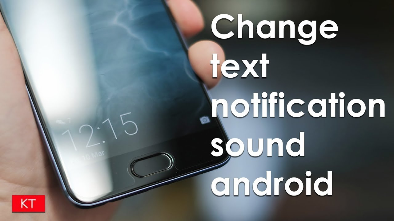 How to set custom text message notification sound for android