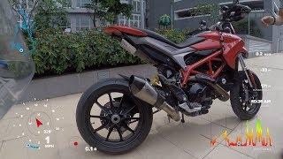 ZX10R Motovlog #11:Làm tí Ducati Hypermotard 821 ( Test ride Ducati Hypermotard 821)