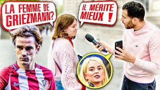 ELLE A TACLÉ LA FEMME D'ANTOINE GRIEZMANN!