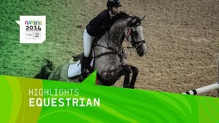 Individual Equestrian Jumping Qualification Round - Highlights | Nanjing 2014 Youth Olympic Games