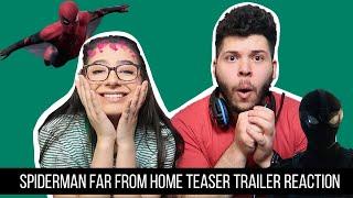 Spider Man Far From Home Teaser Trailer Reaction!!!