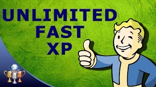 Fallout 4 Unlimited XP Fast 20,000 XP Hour Brotherhood Radiant Side Quest Exploit