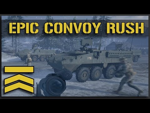 The MOST EPIC Convoy Rush - v10 Squad Gameplay