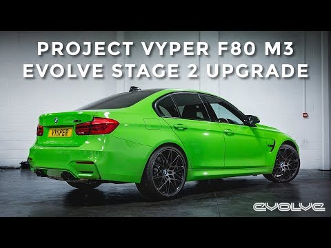Project F80 M3 : Evolve Stage 2 Upgrade - ECU Tuning and Downpipe F82 M4