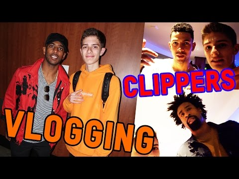HANGING WITH THE LA CLIPPERS ON HALLOWEEN!
