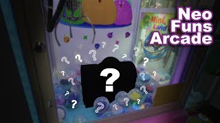 You've never seen a claw machine like THIS before! Mystery claw machine wins at NeoFuns arcade!