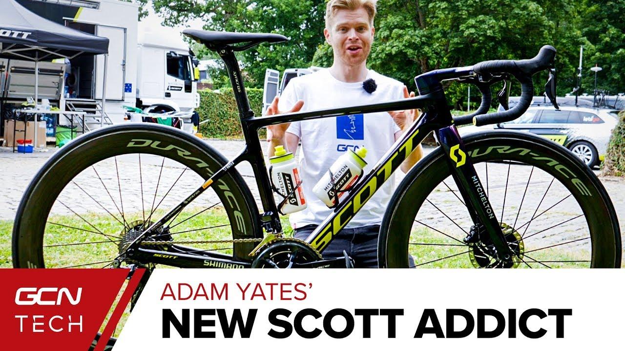 Tour De France 2020 Youtube Adam Yates New Scott Addict RC | Tour de France 2019 Pro Bike