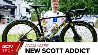 Adam Yates New Scott Addict RC | Tour de France 2019 Pro Bike