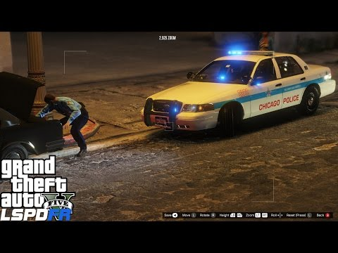 GTA 5 LSPDFR Police Mod 333 | Chicago Police Department ELS Crown Victoria | More Gang Take Downs