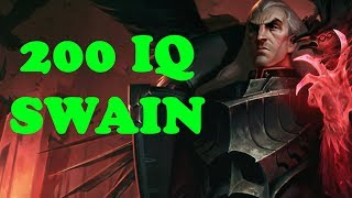 SWAIN 200 IQ PLAYS - Swain Montage #132 - League of Legends Swain