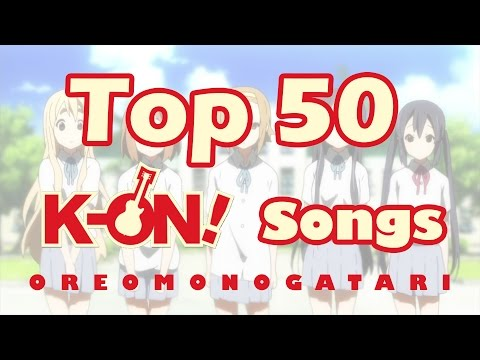 Top 50 K-On! Songs