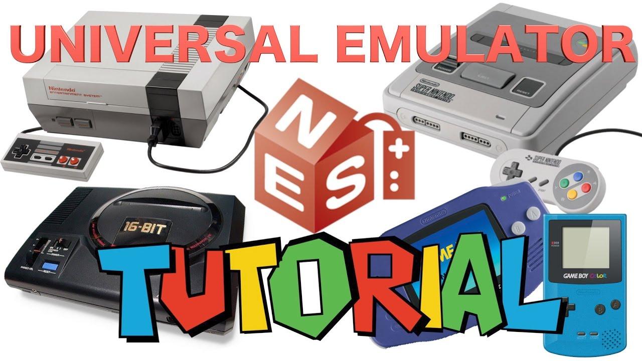 Tutorial Universal Emulator Y Como Sincronizar Mando Xbox Para