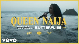 Queen Naija - Butterflies (Live) | Vevo LIFT