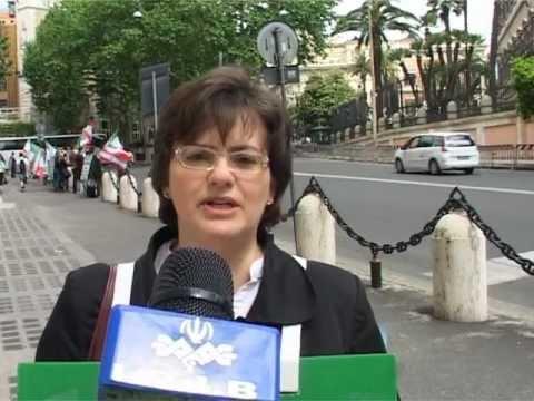 5 Maggio 2012, Protesta Davanti All'Ambasciata Usa A Roma  Contro La Guerra All'Iran