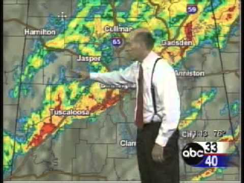 11/10/02 ABC 33/40 Tornado Coverage of Cherokee County, AL F2 Tornado.