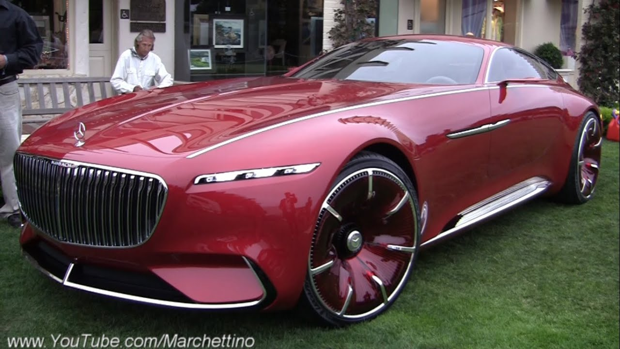 vision mercedes-maybach 6 - being driven w/ a remote! - youtube