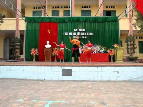 Về quê cũ thcs Phả Lại-Chí Linh-Hải Dương.mpg