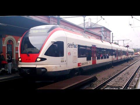 DB : von Stuttgart bis Kontanz mit dem Deutsche Bahn Regio Express uber Alpen