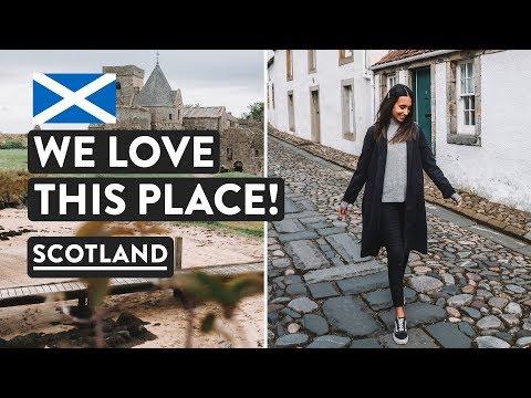 SCOTTISH ROAD TRIP BEGINS 🚙Exploring Fife —Inchcolm Island & Culross | Scotland Vlog