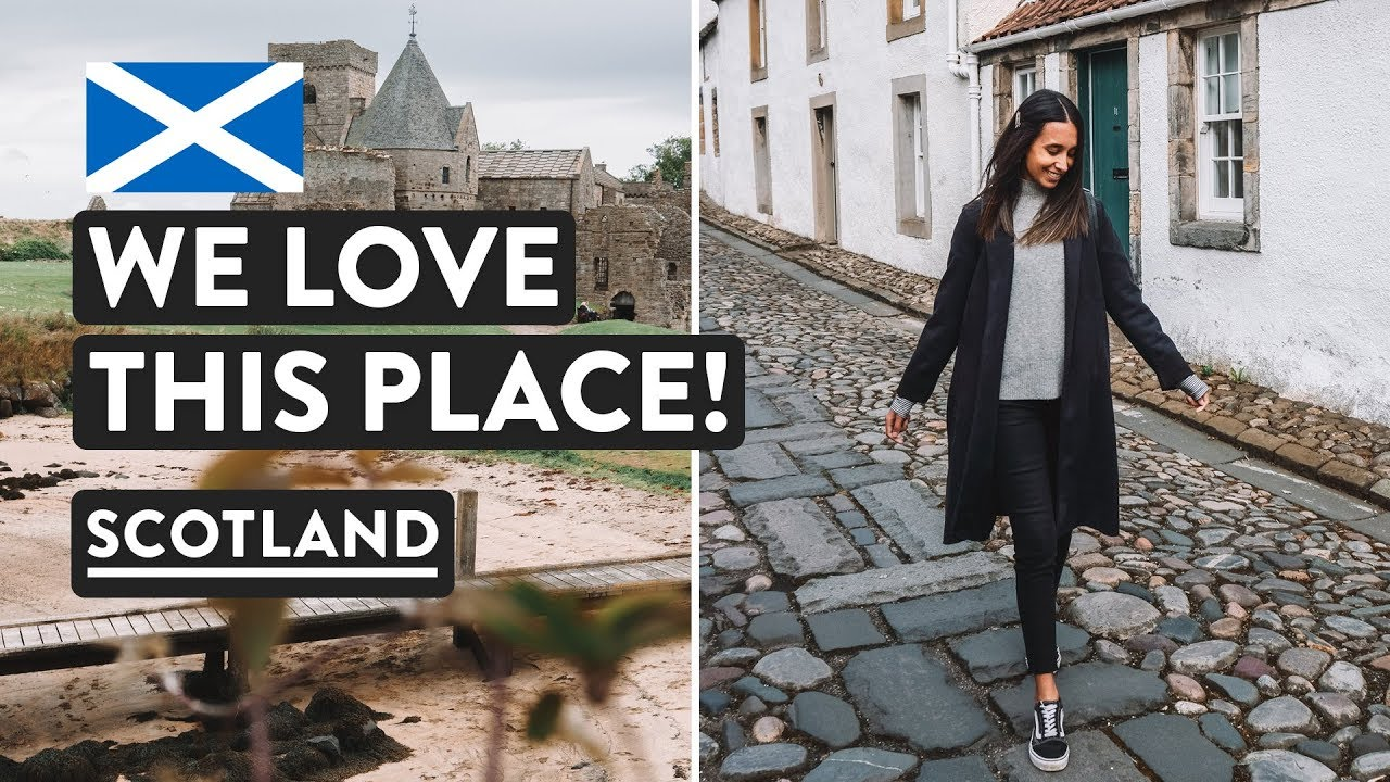 SCOTTISH ROAD TRIP BEGINS ?Exploring Fife — Inchcolm Island & Culross | Scotland Vlog