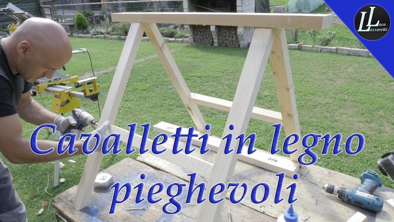 Cavalletti In Legno Ripiegabili Homemade Foldable Wooden Easels