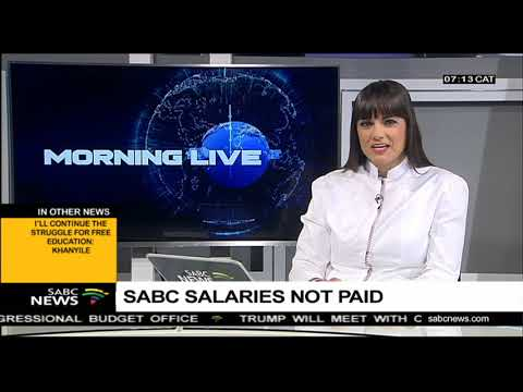 SABC salaries not paid due to technical error