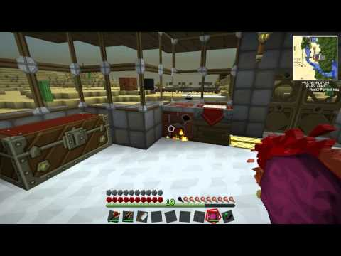 Minecraft: Tekkit With Lewis - Solar Panel, Battery Box And Diamond Handsaw #52