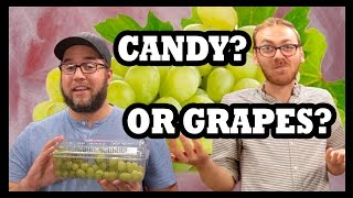 Cotton Candy Grapes Taste Test