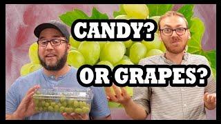 Cotton Candy Grapes Taste Test