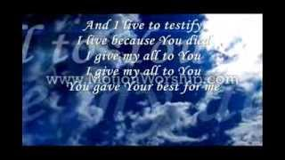 Best For Me By Darlene Zschech Lyrics