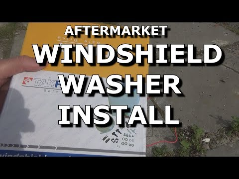 Aftermarket Windshield Washers Replacement & Install